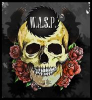 Skull, Roses n Ravens by WASP-Deviations