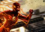 The Flash - Grant Gustin by spidermonkey23
