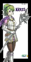 Karis de Golden Sun: Dark Dawn by GACS-Draw
