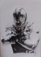 BANE dark knight rises sketch by ARTIEFISHEL79