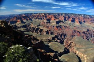 Grand Canyon South Rim Layers by fosspathei