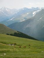 Rocky Mountains by Serendith
