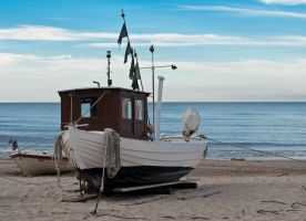 Usedom Fishing Boat by sandor99