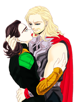 Thorki by kitamiya