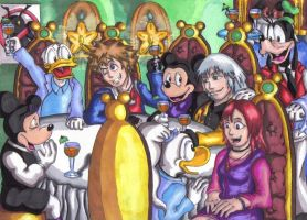 KH's Get Together Party by TipsyMcBoozerton