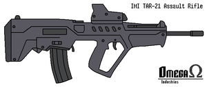 TAR-21 Assault Rifle by omegafactor90