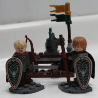 Lego Brienne of Tarth by LD-Skull