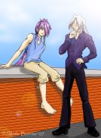 Saint Dane and Shido Fashion by shido-burrito
