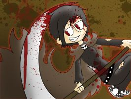 With lots of blood by Ezkai