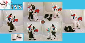 Quickstitch Plushie (commission) by moggymawee
