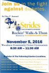 Strides Rockin' Walk-A-Thon Info Poster by simplemanAT