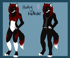hailey ref by americaneagIe