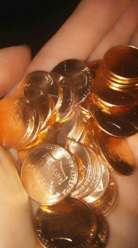 Pennies by ArtsyChick28