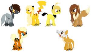 New PokePonies by SarahHardy01