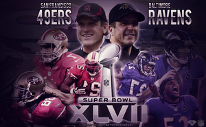 Baltimore Ravens vs. San Francisco 49ers by DiamondDesignHD