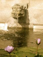 Asian fountain by kimmyjune
