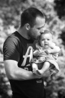 Aubrie And Daddy by KeithRobinette