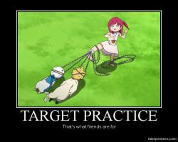 Magi:TloM~Target Practice Demotivational by XxCelestialWolfxX