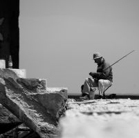 The fisherman by 2Mpxl