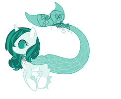 Sea pony adopt (Closed) by dragonsweater