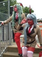 Scanty and Kneesocks I by RaquelQuiros