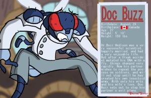 Doc Buzz Bio by BrokenTeapot
