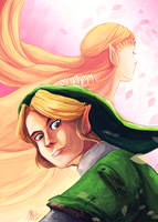 Legend of Zelda by lalitterboxes