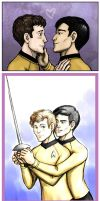 Sulu Loves Chekov by foxysquid