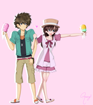 Ice Cream is sweet too! by happygirlXD