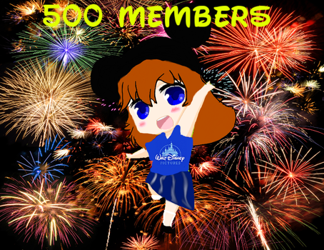 500 Members! by Subby-Chans