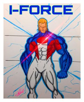I-FORCE BY TAVIS CARDENAS by EricLinquist