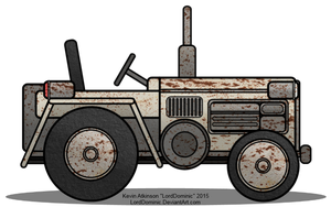 Old Tractor by LordDominic