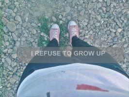 i refuse to grow up by Methhe