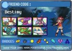 My Alpha Sapphire Trainer Card-6 Megas by Rose3212