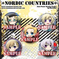APH : Nordic Countries by MaowDao
