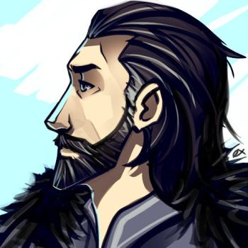 Ned Stark by ex-m