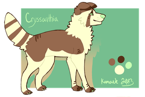 Cryssanthia Reference Sheet by Kama-ItaeteXIII