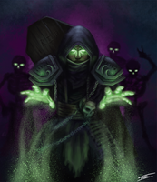 Necromancer by ForrestImel