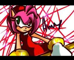 .:Commis:. Amy rose by BZ-Commissons