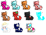 .:1 Point adoptables:. by MissDeville991