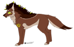 Canine adopt/OPEN by BlackLightning95