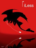 iLess - Toothless by frans97