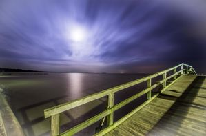 Steinhuder Meer by Night III by wolfgangbuhr