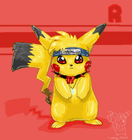 shiny pikachu by timmy-gost