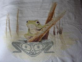 Todd the Frog by Yacoba