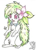 Shaymin for my mother by mr-tiaa