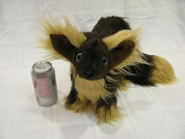 Super Fluffy ready-to-ship Baby Fox/Wolf Plushie by SPPlushies