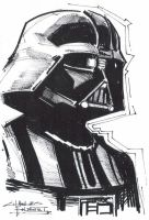 M.I.A Darth Vader by KidNotorious
