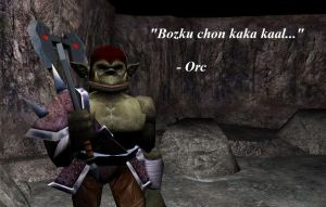 Orc Quotes by TheMightyGorga
