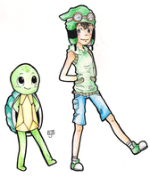 Alex and Sheldon by cluelesscomedy123